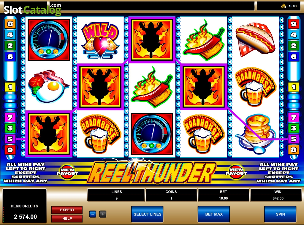 Spiele Reel Thunder - Video Slots Online