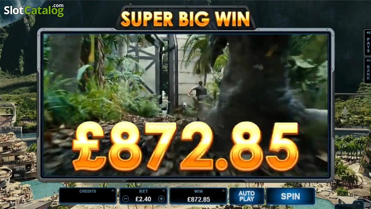 Jurassic World Slot Review, Bonus Codes & where to play from United Kingdom