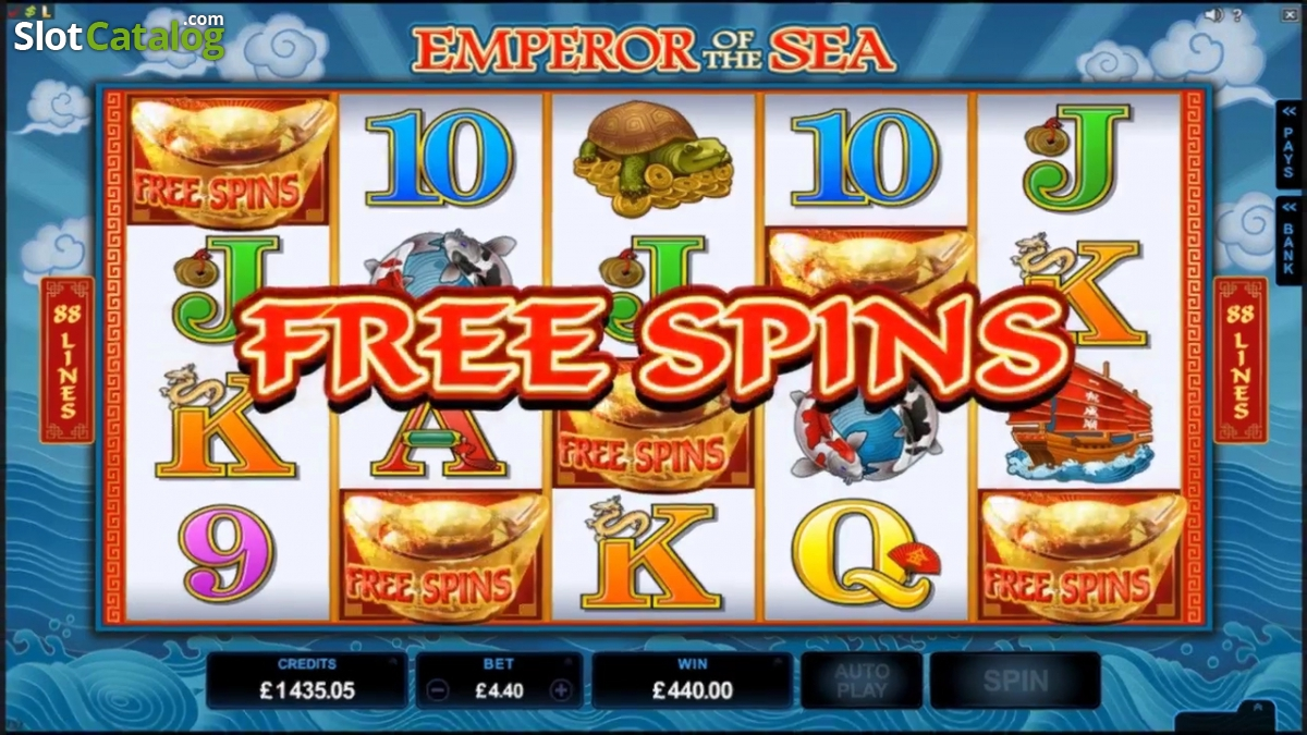 Sea Emperor Slots Review & Free Instant Play Casino Game