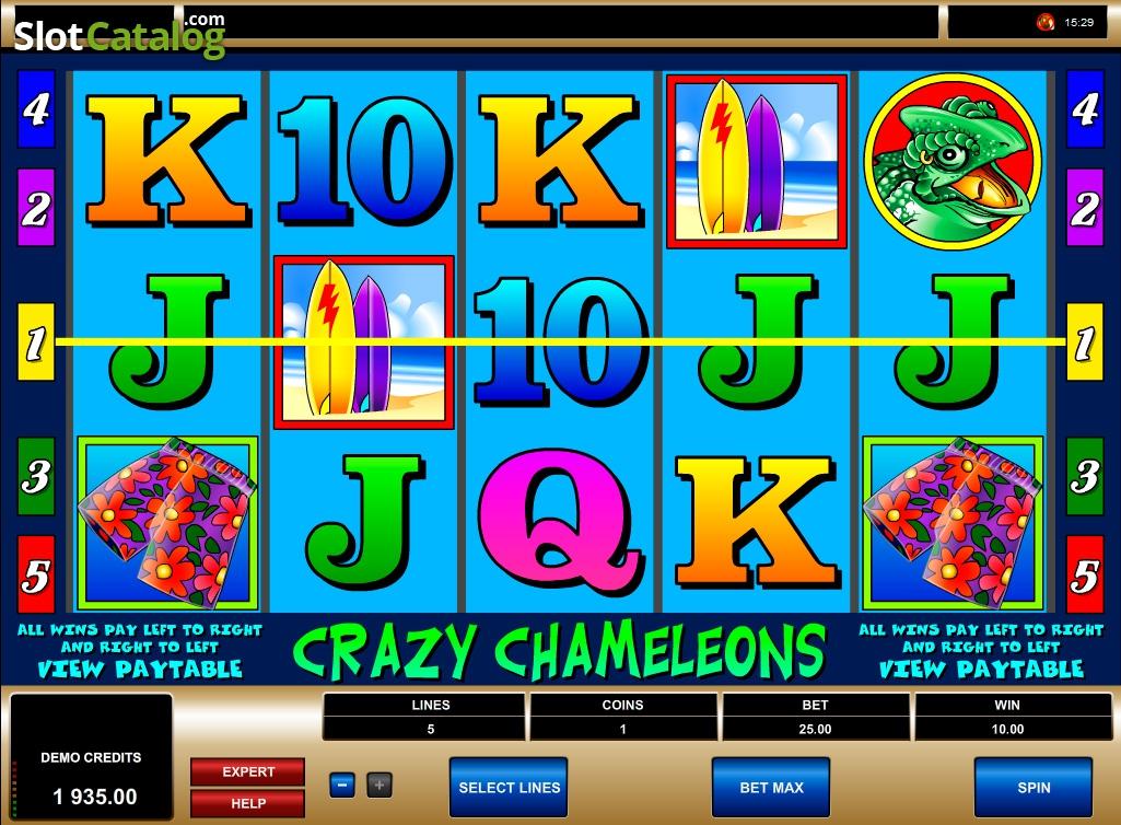 Spiele Crazy Chameleons - Video Slots Online