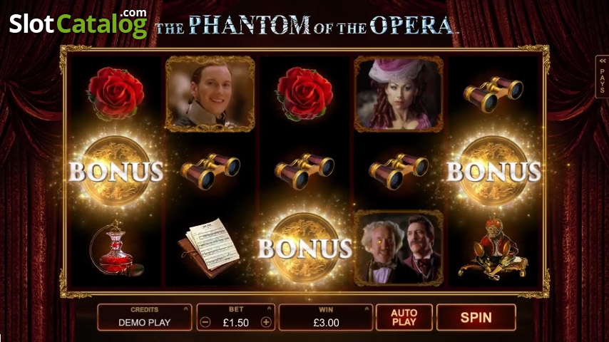 Spiele The Phantom Of The Opera - Video Slots Online