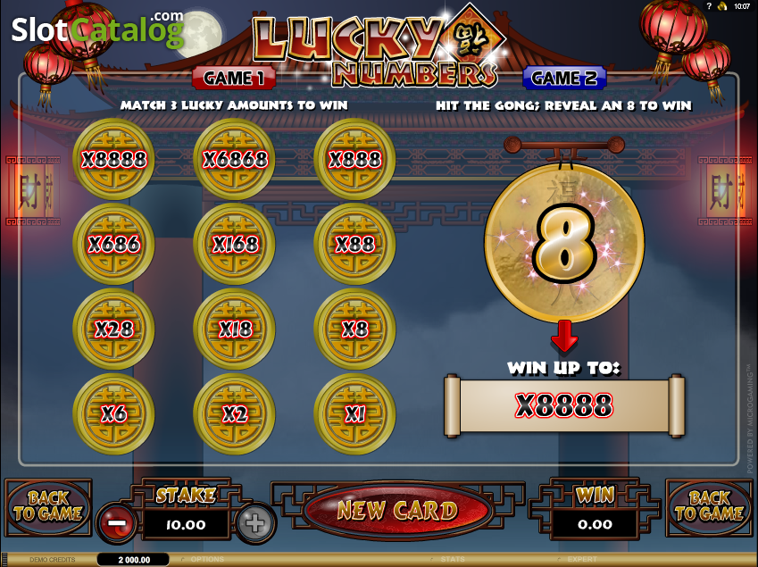Lucky Numbers Slot Review, Bonus Codes & where to play from United Kingdom