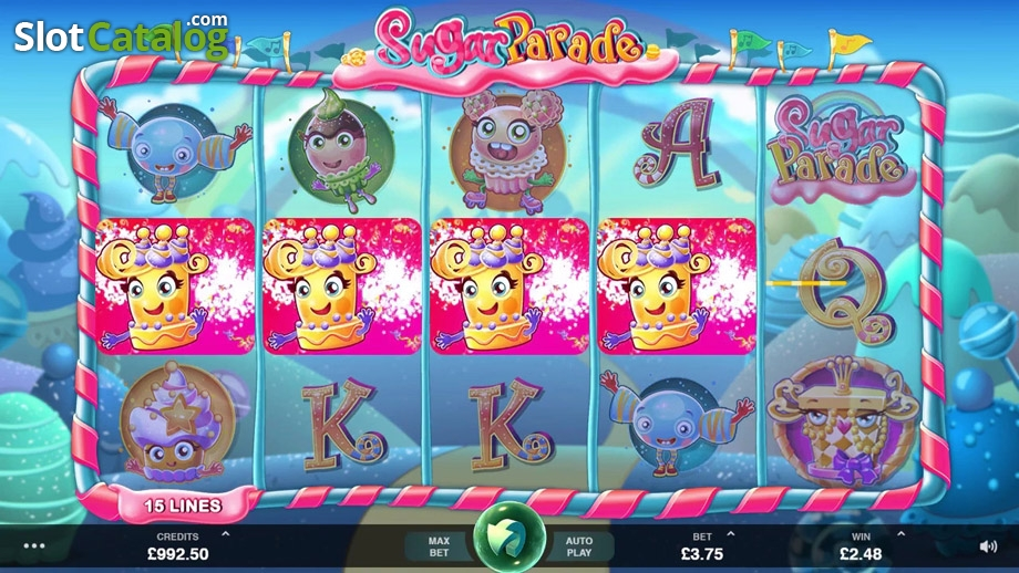 Sugar Parade Slots - Read the Review and Play for Free