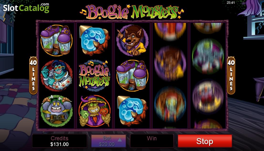 Boogie monsters slot
