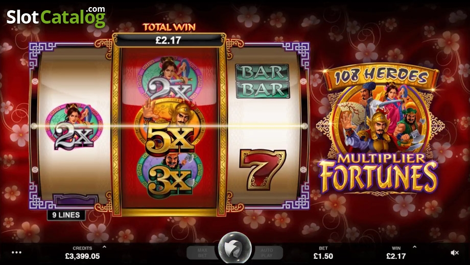 108 Heroes Slots - Review & Play this Online Casino Game
