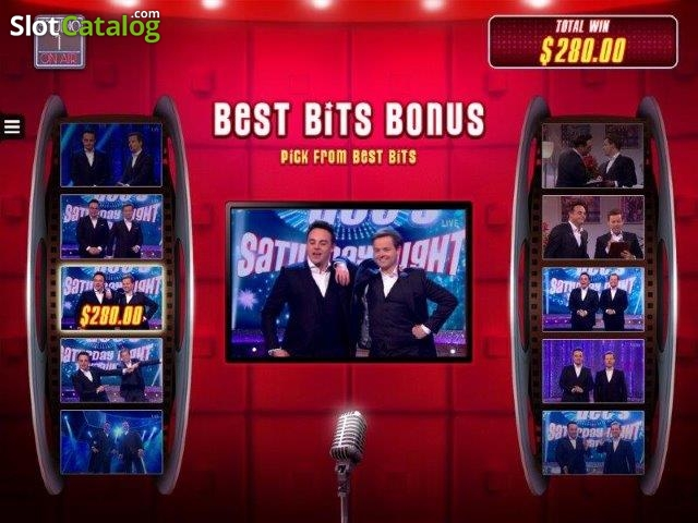 Spiele Ant And Dec'S Saturday Night Takeaway - Video Slots Online
