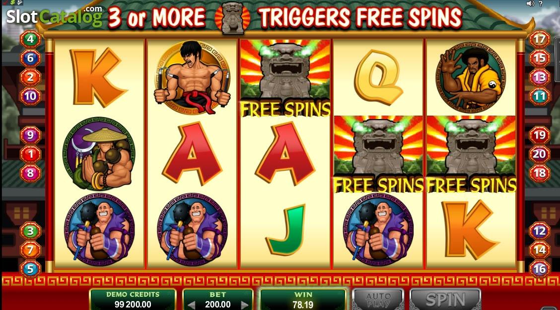 Spiele KungFu Kash - Video Slots Online