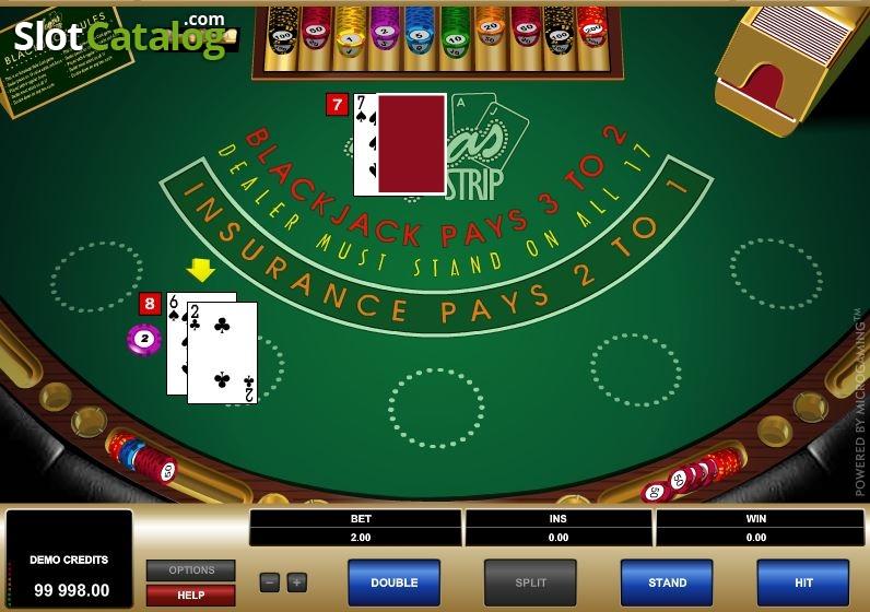 Strip Blackjack Kostenlos
