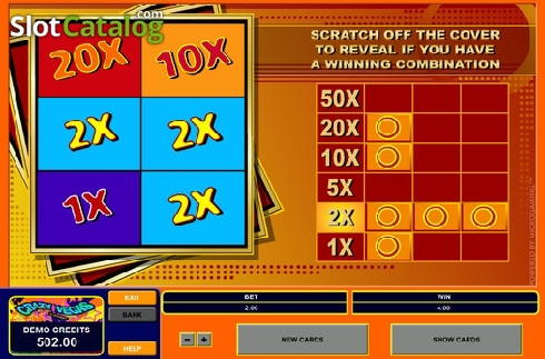 Scratch Card Slot Review, Bonus Codes & where to play from United Kingdom