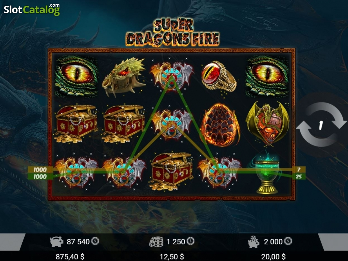Spiele Super Dragons Fire - Video Slots Online