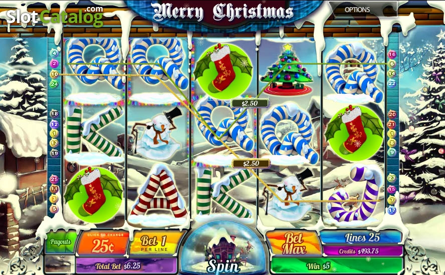 Merry Christmas (MultiSlot) Slot Review, Bonus Codes & where to play from  United Kingdom