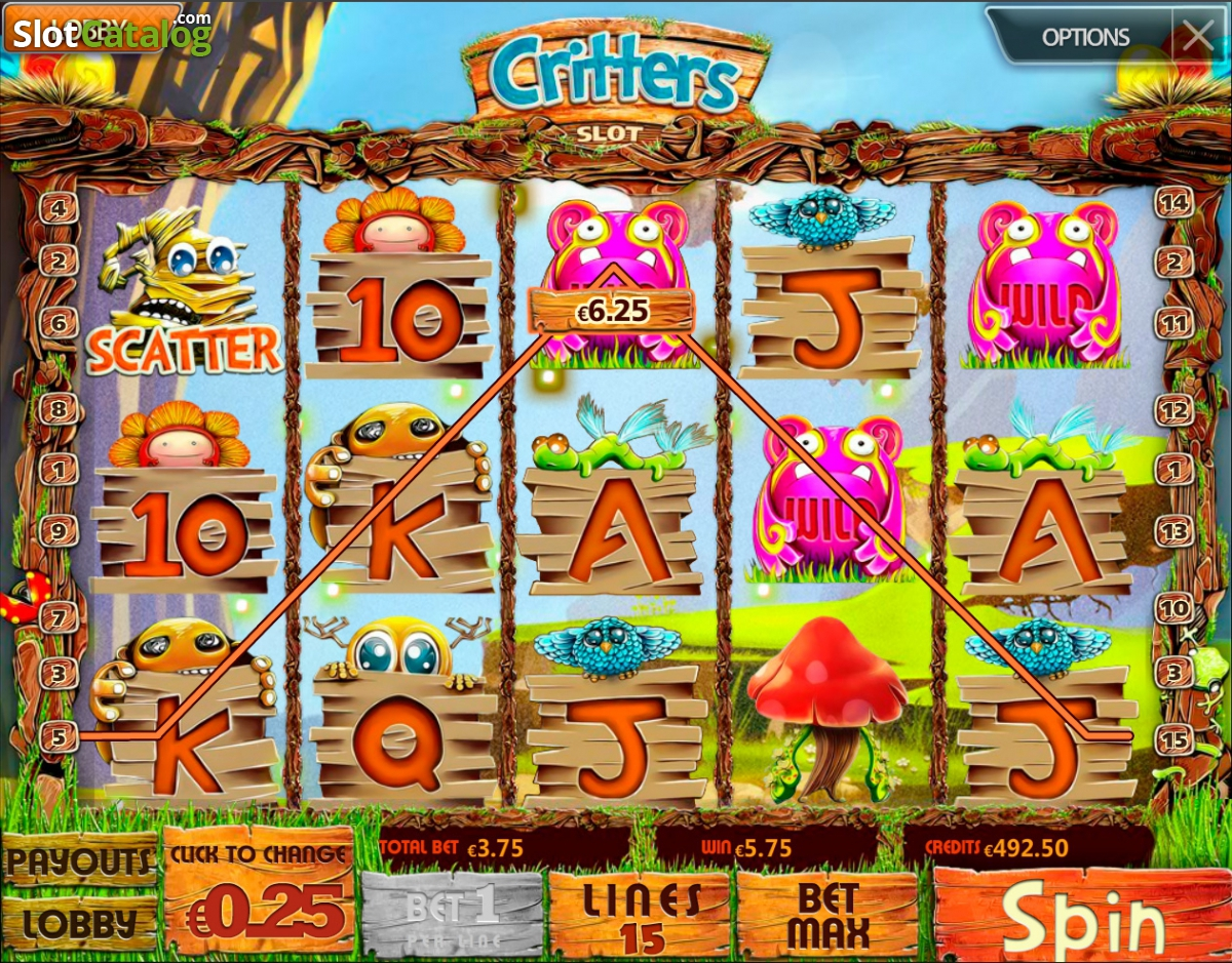 play coin critters game