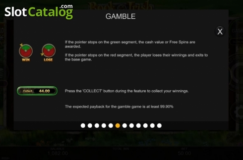 Features 4. Book of the Irish (Video Slot from Inspired Gaming)
