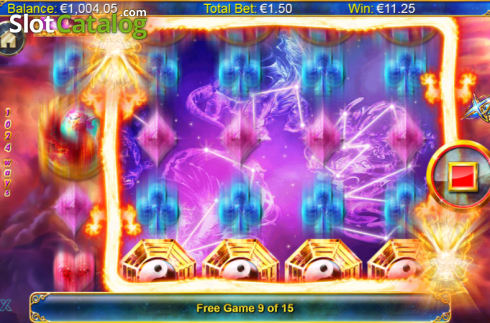 Screen 9. Xing Guardian (Video Slots from NextGen)
