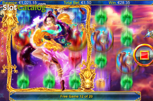Screen 10. Xing Guardian (Video Slots from NextGen)