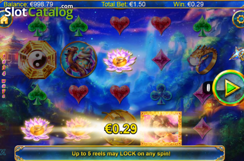 Screen 2. Xing Guardian (Video Slots from NextGen)