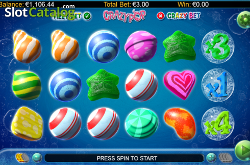 Screen 10. Crazy Pop (Video Slots from GamesLab)
