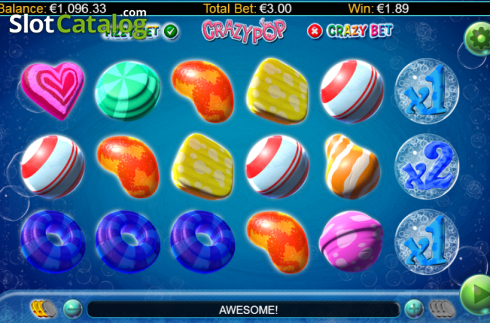 Screen 12. Crazy Pop (Video Slots from GamesLab)