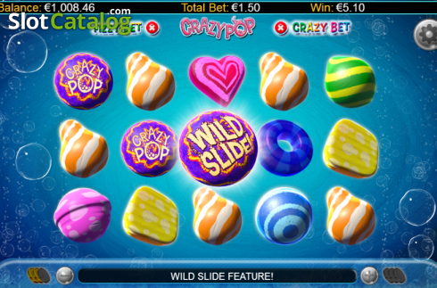 Screen 5. Crazy Pop (Video Slots from GamesLab)