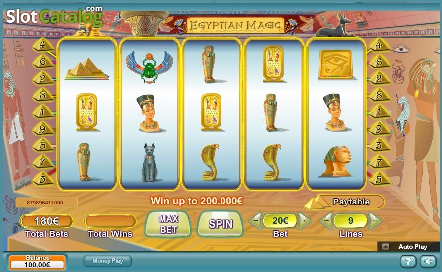egyptian magic sverige