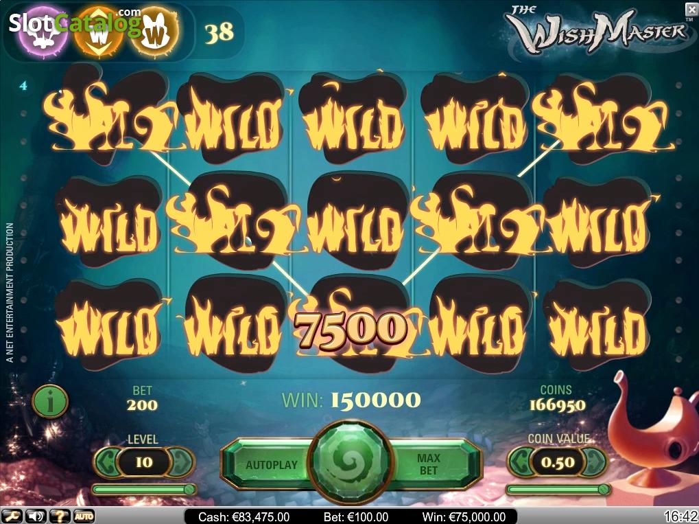 игровой слот wishmaster