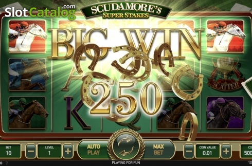 Ecran3. Scudamore's Super Stakes (Slot video din NetEnt)