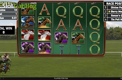 Ecran7. Scudamore's Super Stakes (Slot video din NetEnt)