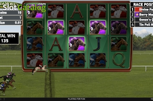 Ecran8. Scudamore's Super Stakes (Slot video din NetEnt)