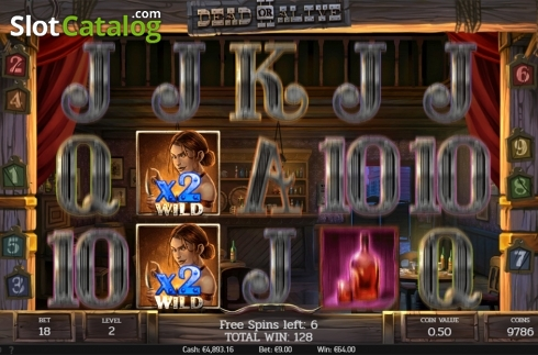 Free spins screen 1. Dead or Alive 2 (Video Slot from NetEnt)