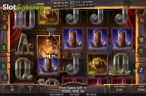 Free spins screen 2. Dead or Alive 2 (Video Slot from NetEnt)