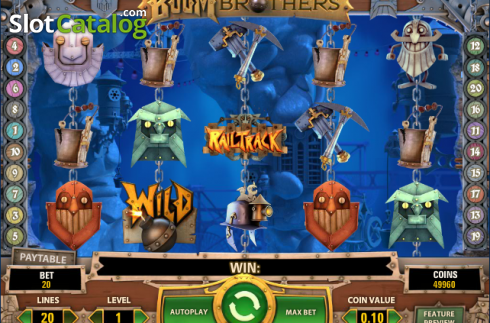 Screen5. Boom Brothers (Video Slot from NetEnt)