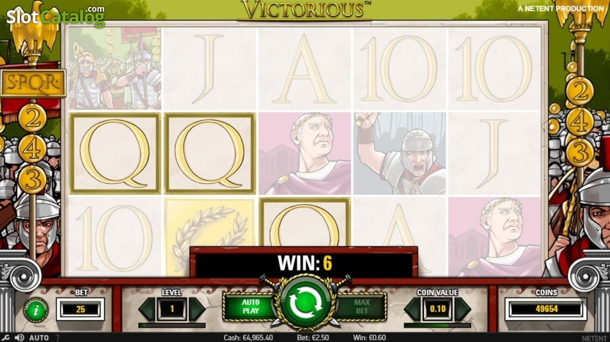 Spiele Victorious Slots - Video Slots Online