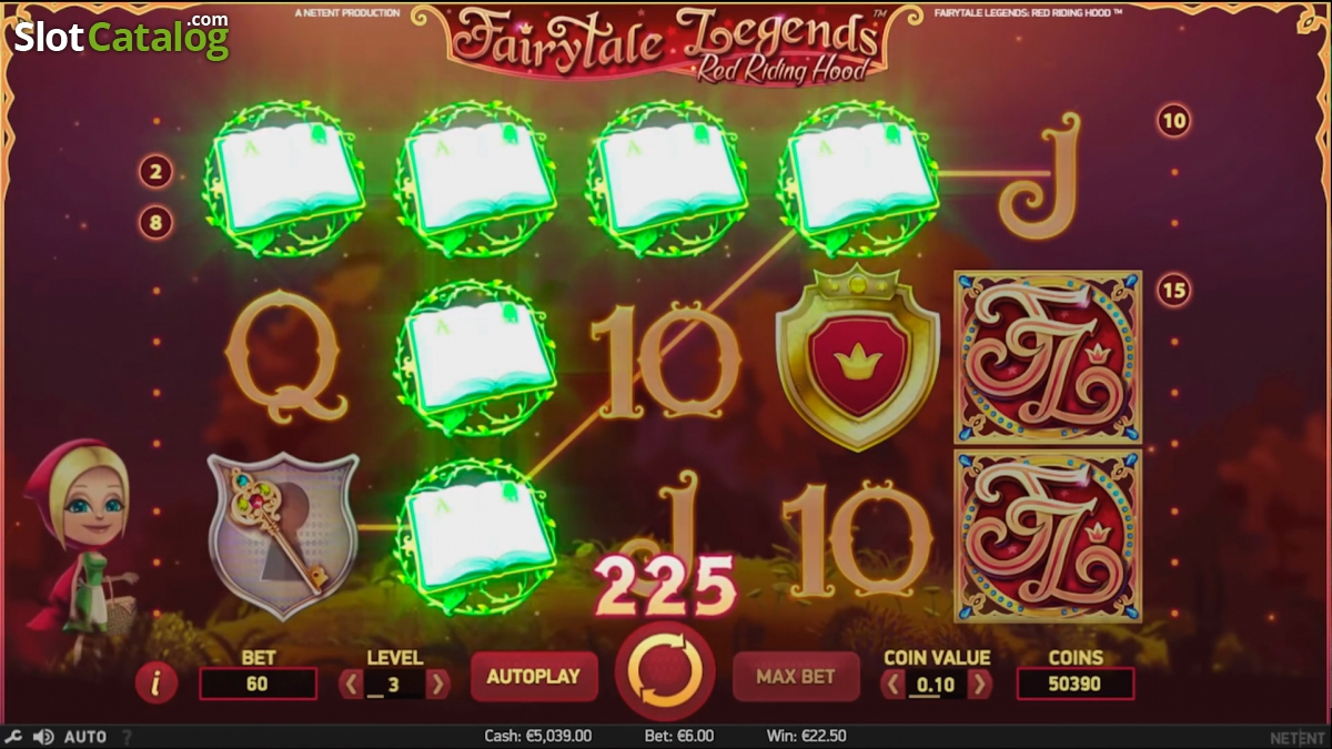 netent red riding hood slot