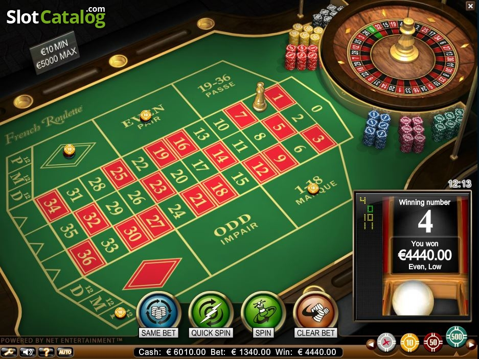 Spiele French Roulette (NetEnt) - Video Slots Online
