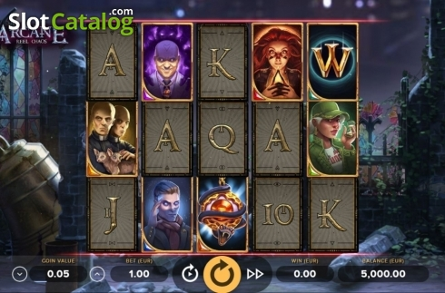 Reel Screen. Arcane Reel Chaos (Video Slot from NetEnt)