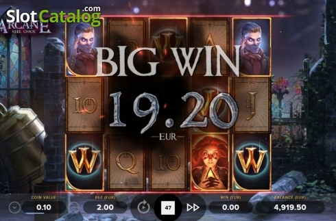 Big Win. Arcane Reel Chaos (Video Slot from NetEnt)