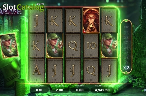 Feature 1. Arcane Reel Chaos (Video Slot from NetEnt)