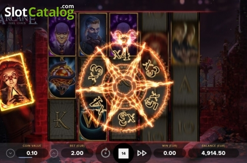 Feature 3. Arcane Reel Chaos (Video Slot from NetEnt)