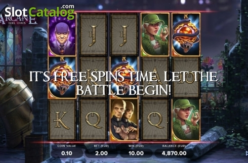 Free Spins 1. Arcane Reel Chaos (Video Slot from NetEnt)