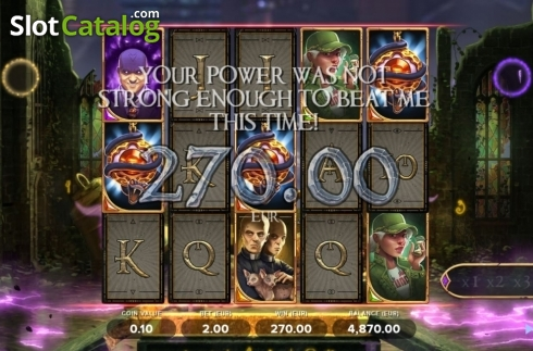 Total Win. Arcane Reel Chaos (Video Slot from NetEnt)