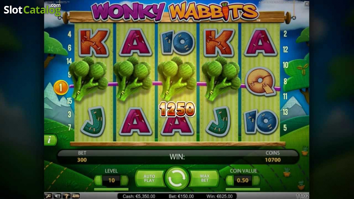 Spiele Wonky Wabbits Slots - Video Slots Online
