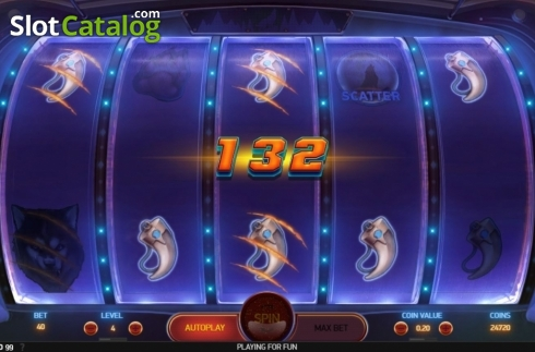 Win Screen 1. Spinsane (Video Slot from NetEnt)