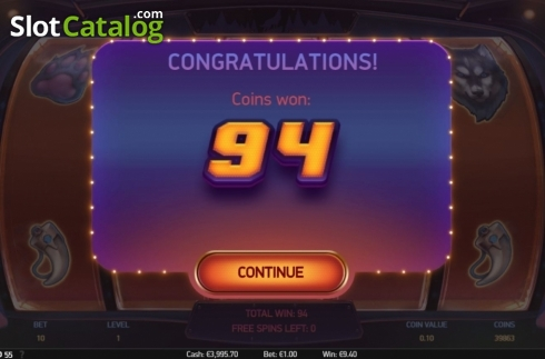 Total Win. Spinsane (Video Slot from NetEnt)
