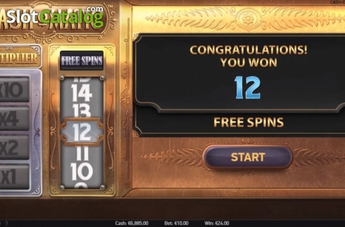 Free Spins 1. Cash-O-Matic (Video Slots from NetEnt)