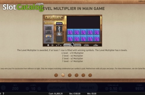 Features 5. Cash-O-Matic (Video Slots from NetEnt)