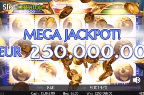 Jackpot. Mercy of the Gods (Video Slot from NetEnt)