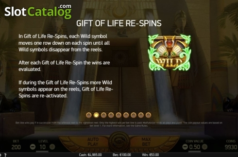 Features 2. Mercy of the Gods (Video Slot from NetEnt)