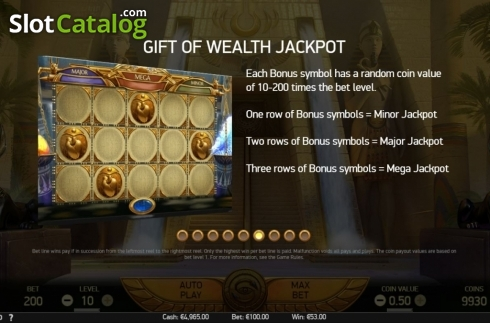 Features 5. Mercy of the Gods (Video Slot from NetEnt)