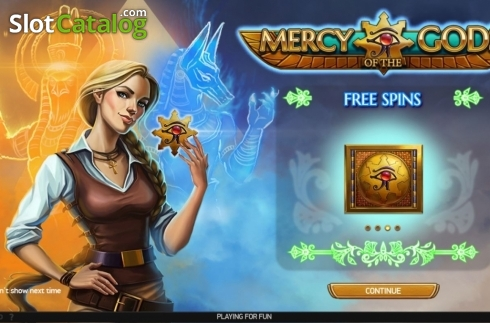 Start Screen. Mercy of the Gods (Video Slot from NetEnt)