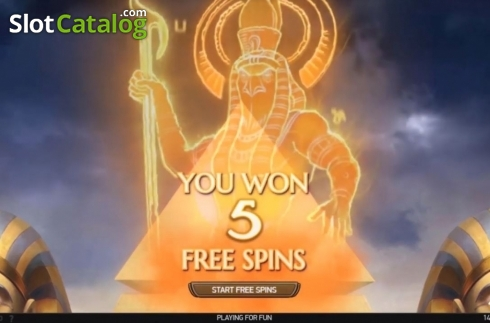 Free Spins 2. Mercy of the Gods (Video Slot from NetEnt)